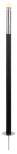Garden Torch, cylinder, black