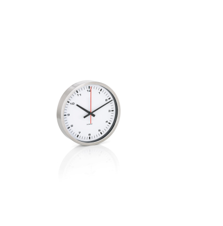 ERA, Väggklocka, vit, Ø 24 cm