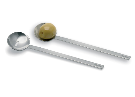 2 pc Olive Spoon Set,UTILO