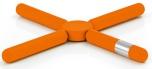 Trivet, orange,KNIK