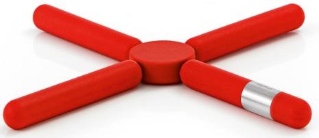 KNIK, Grytunderlägg, röd
