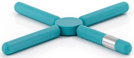 KNIK, Grytunderlägg, blå