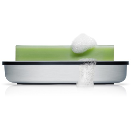 Soap dish, matt Brushed,AREO