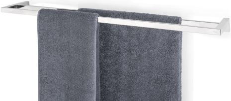 Twin Towel Rail, 84 cm, polish