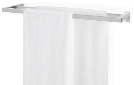 Twin Towel Rail, 64 cm, matt,M