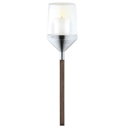 Candle Holder on wooden pole,A