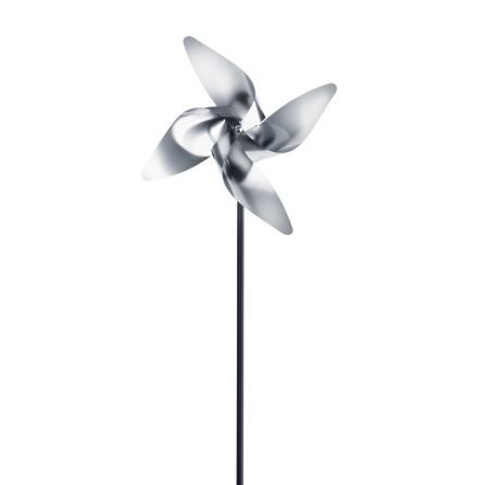 Pinwheel, 4 petal, Small, VIEN