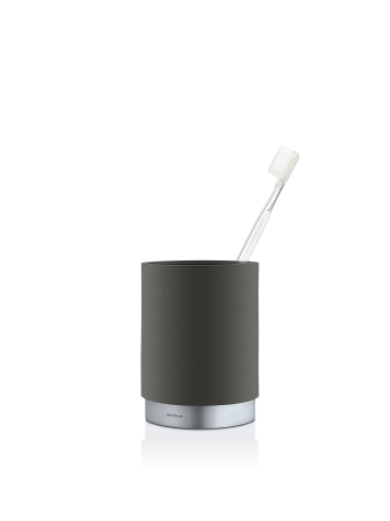 Toothbrush Mug, grey,ARA