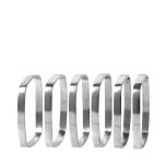 FINO Servettring set/6, nickel