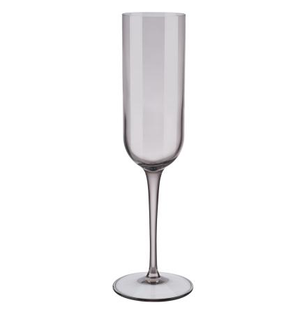 Set med 4 champagneglas, Fungi, FUUM