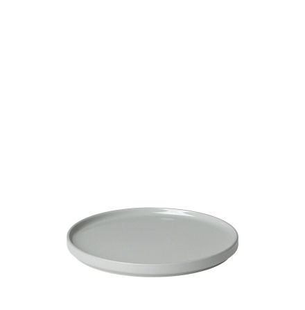 PILAR, Desserttallrik, Mirage Grey