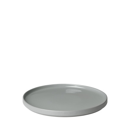 PILAR, Middagstallrik, Mirage Grey