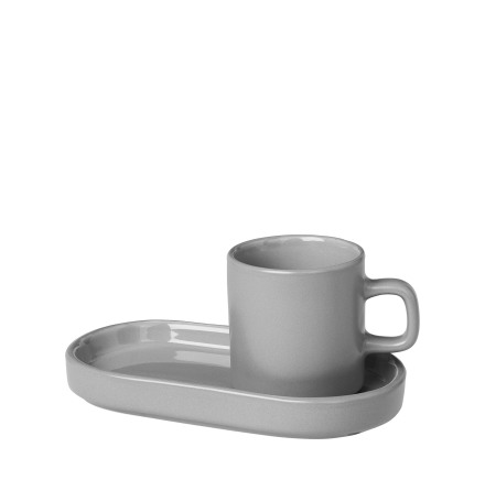 MIO, Set 2 st Espressomuggar, Mirage Grey