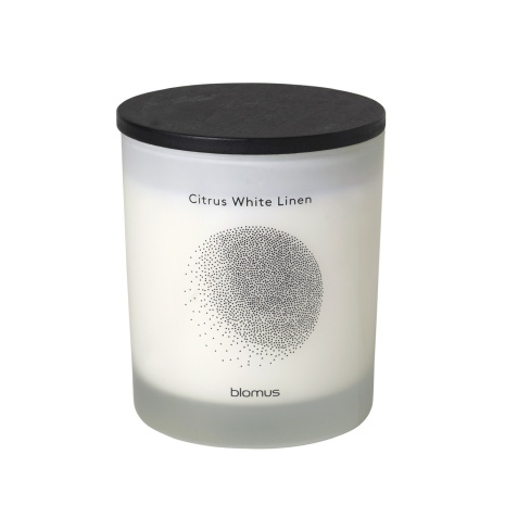 FLAVO Doftljus, Citrus White Linen/Lily White