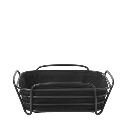 DELARA Brödkorg, svart, L