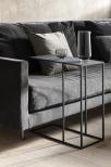 FERA Sidobord, 58x50 cm, Steel Gray
