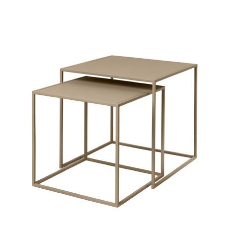 FERA, Set med 2 bord, Nomad, Blomus