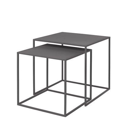 FERA, Set med 2 bord, Steel Grey, Blomus