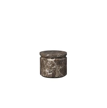 PESA Förvaringsbox, Marmor, Brun