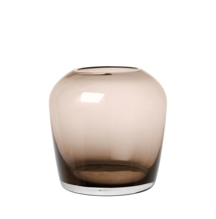LETA, Vas 15 cm, Large - Coffee