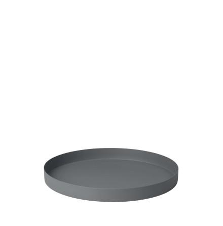 REO Bricka, Ø 30,5 cm, Medium, Pewter