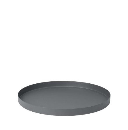 REO Bricka, Ø 36 cm, Large, Pewter