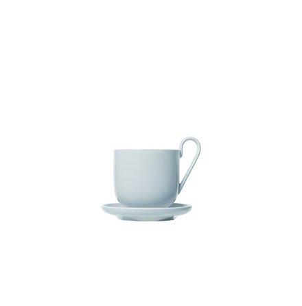 RO 2-pack Kaffekoppar med fat Nimbus Cloud