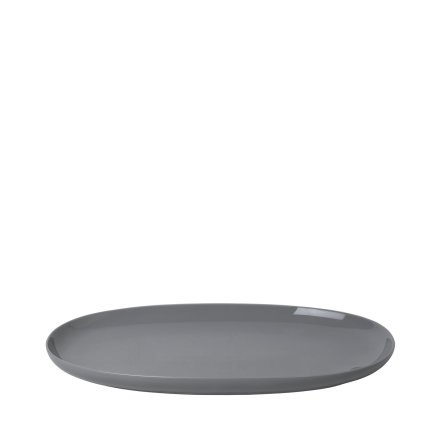 RO Serveringsfat Oval Large - Sharkskin