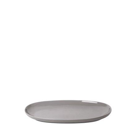 RO Serveringsfat Oval Medium - Mourning Dove