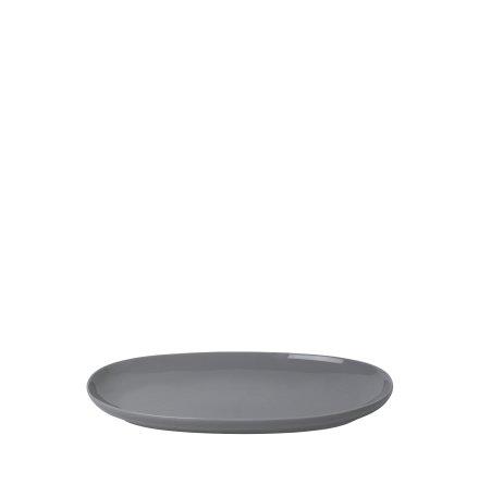 RO Serveringsfat Oval Medium - Sharkskin